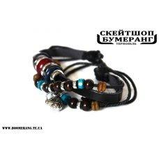 Браслет кожа Elephant beads