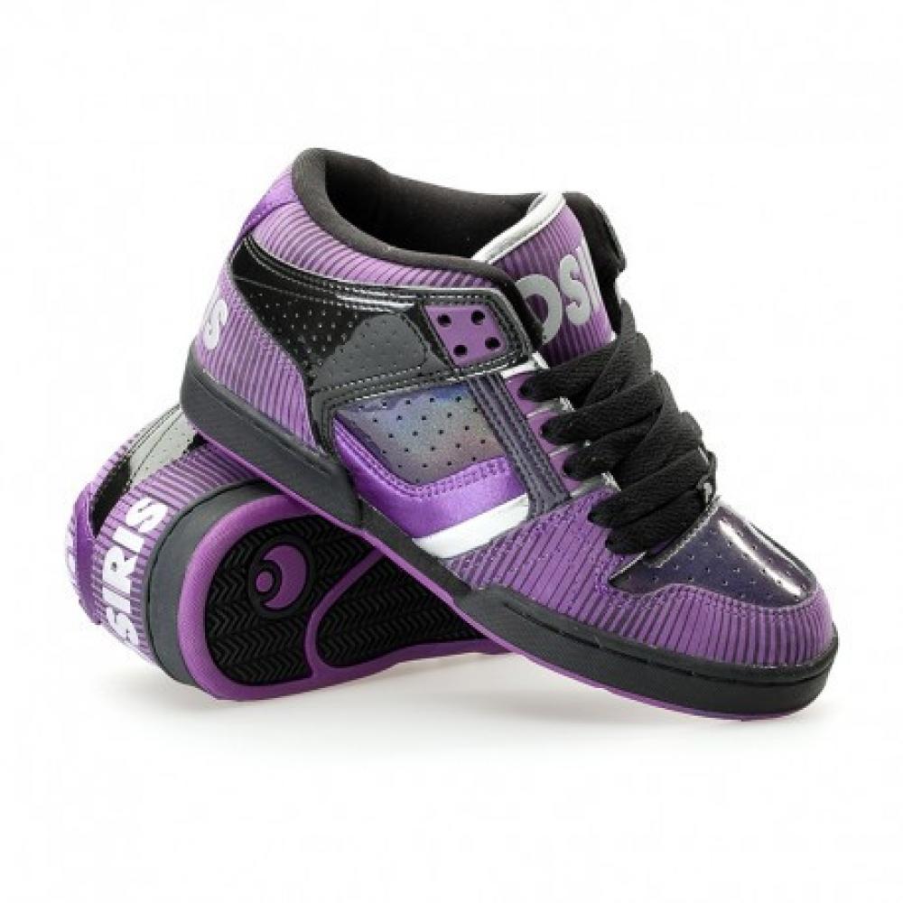 Кросівки Osiris South Bronx Girls Blk/Purple/Silver