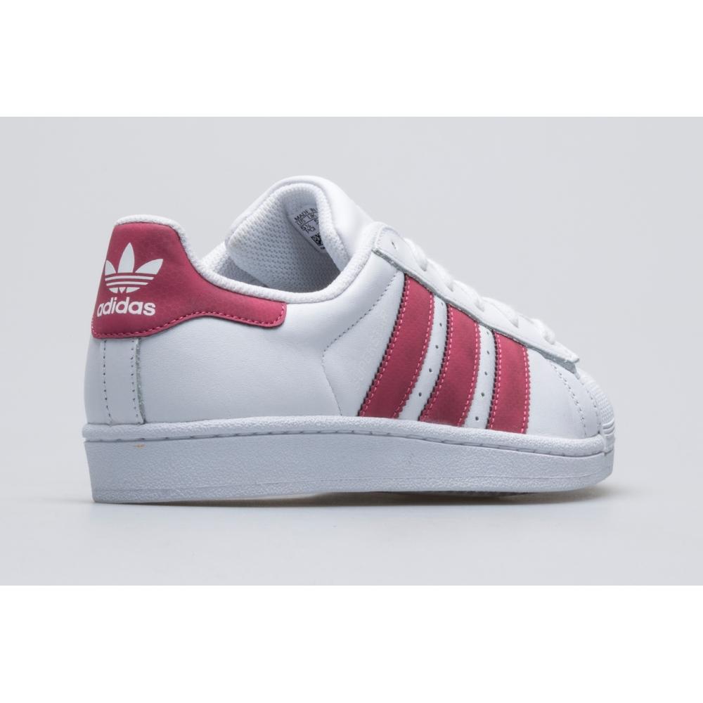 Кросівки Adidas Superstar J wht/pnk