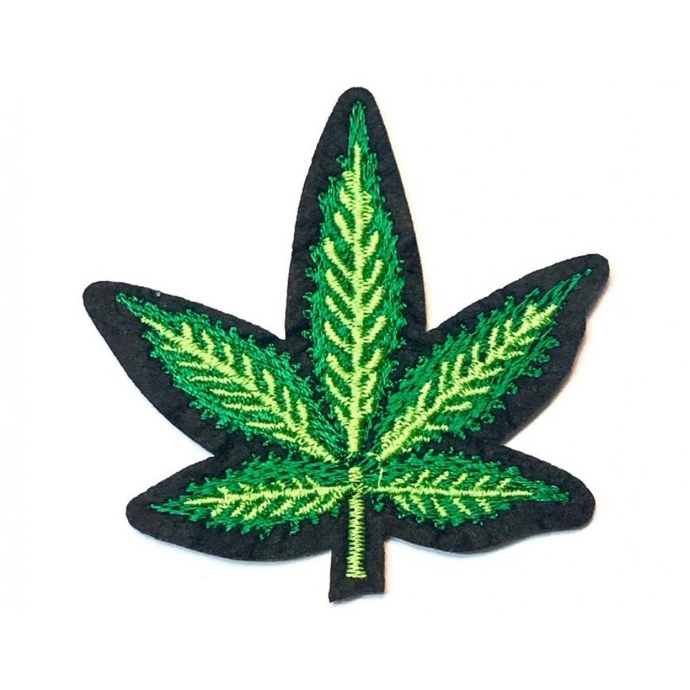 Термонашивка патч Weed