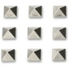 Стомп ELFGEN Little pyramids metall bumbs silver