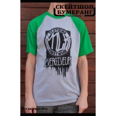 Футболка Milk Clothing Green Grey TAG